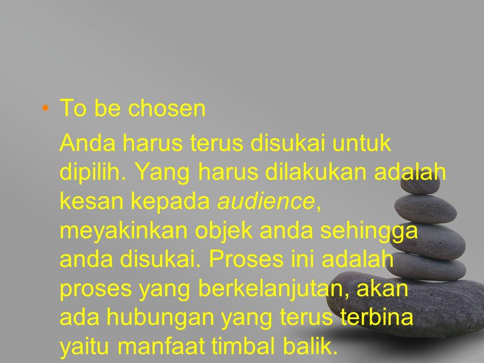 To be chosen