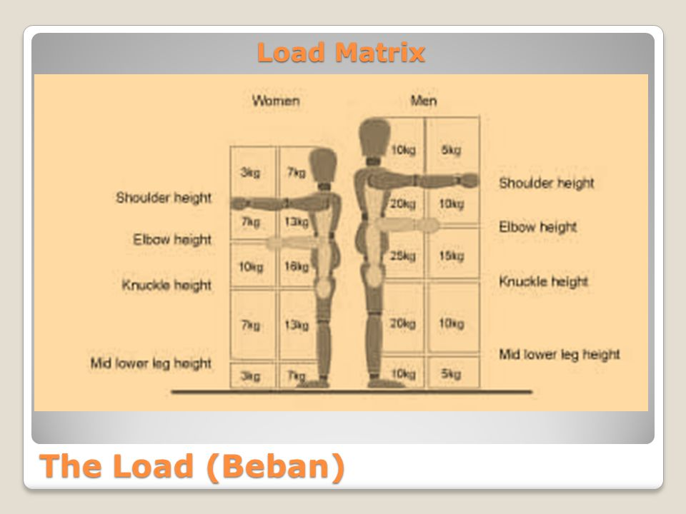 Load Matrix The Load (Beban)