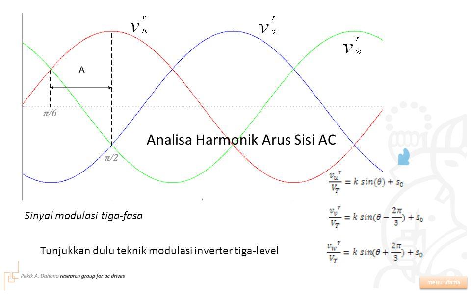 Analisa Harmonik Arus Sisi AC