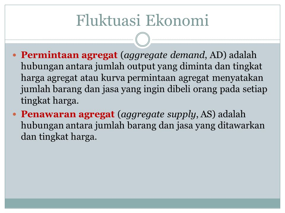 Fluktuasi Ekonomi