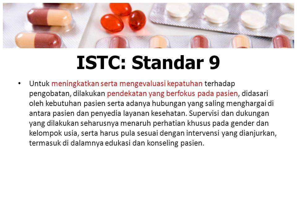 ISTC: Standar 9