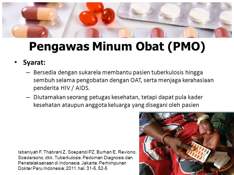 Pengawas Minum Obat (PMO)