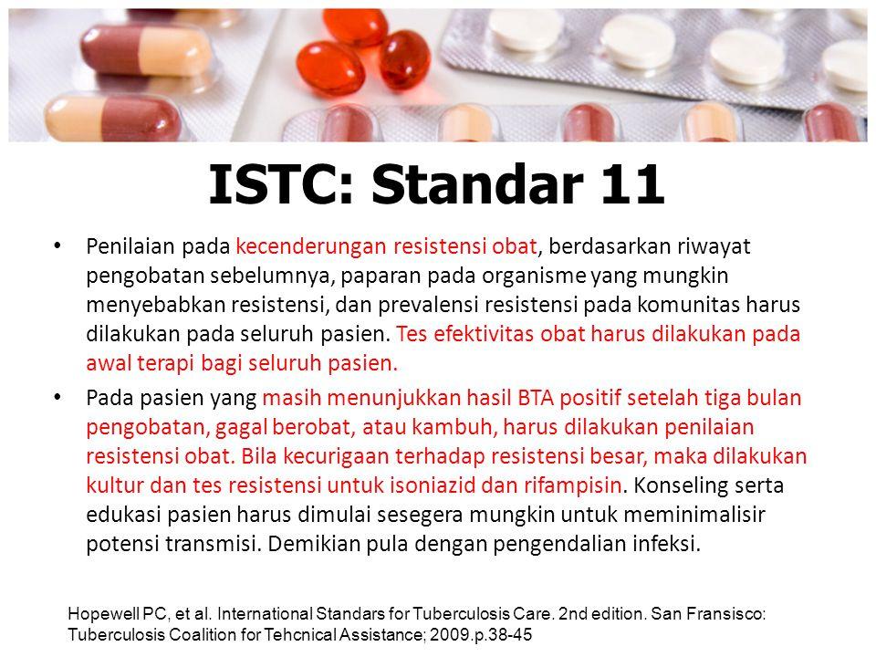 ISTC: Standar 11