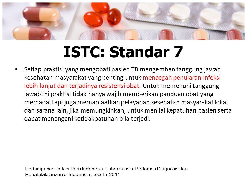 ISTC: Standar 7