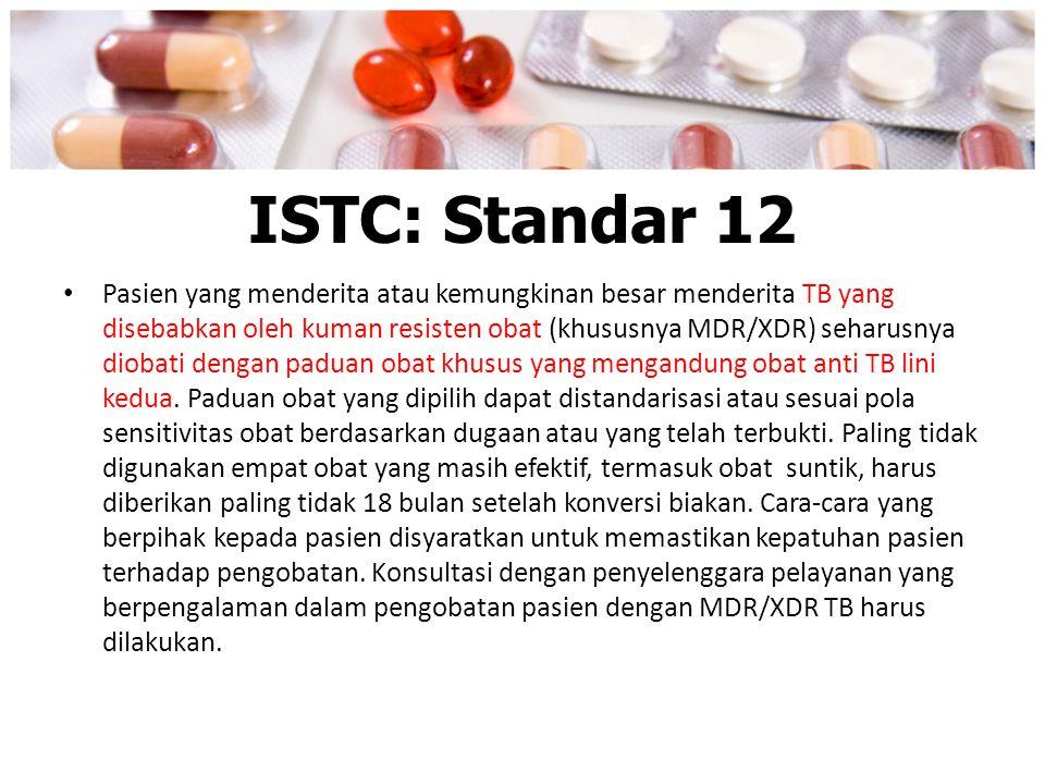ISTC: Standar 12