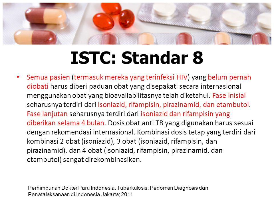 ISTC: Standar 8