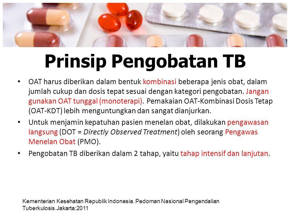 Prinsip Pengobatan TB