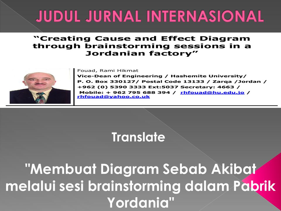 JUDUL JURNAL INTERNASIONAL