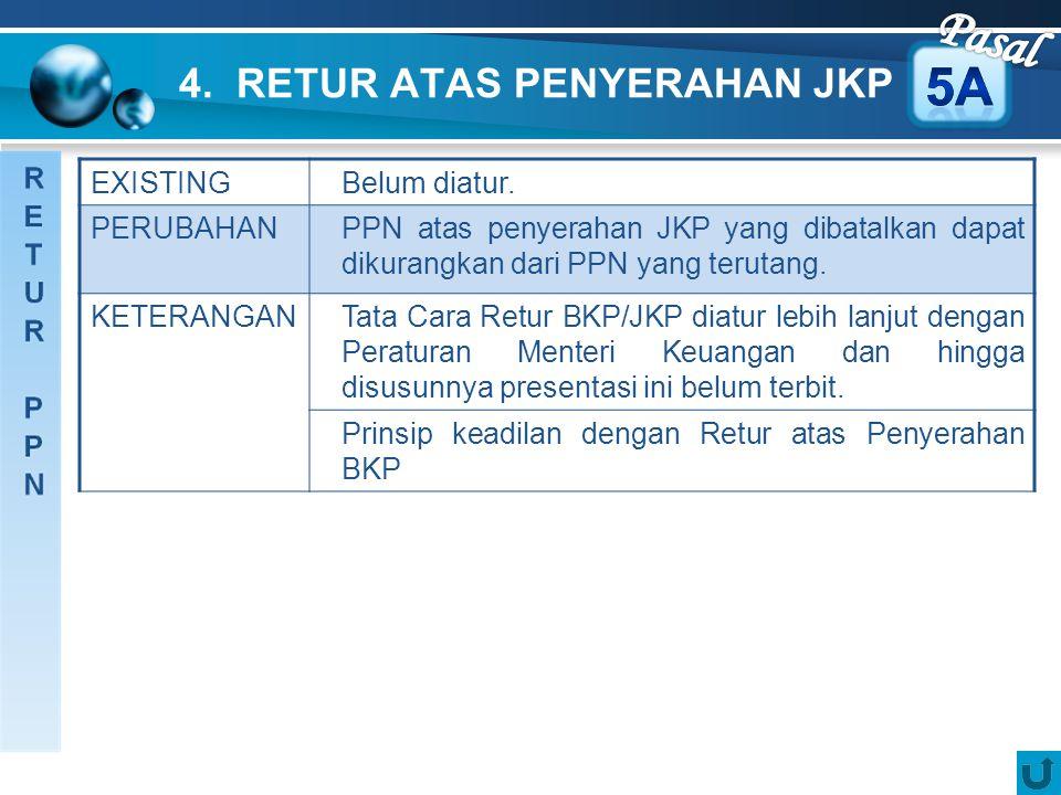 4. RETUR ATAS PENYERAHAN JKP