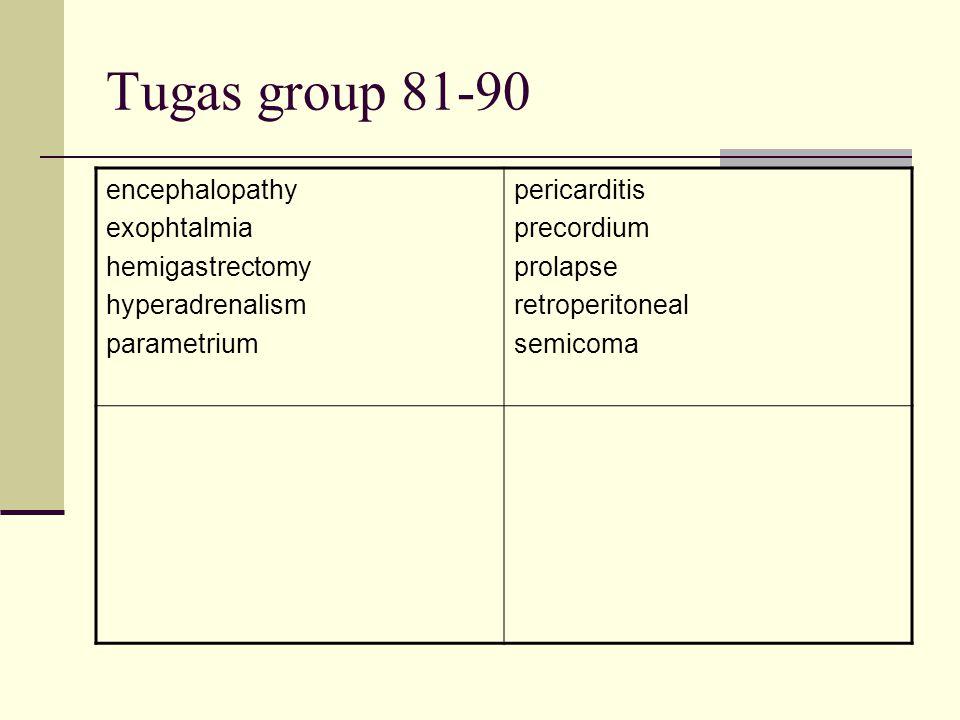 Tugas group 81-90 encephalopathy exophtalmia hemigastrectomy