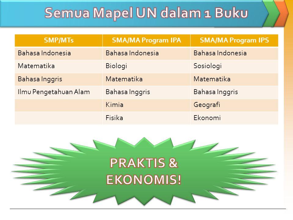 Semua Mapel UN dalam 1 Buku