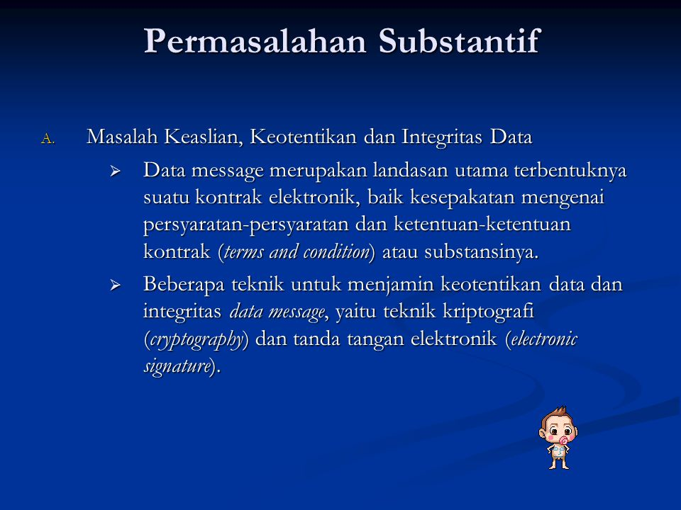 Permasalahan Substantif
