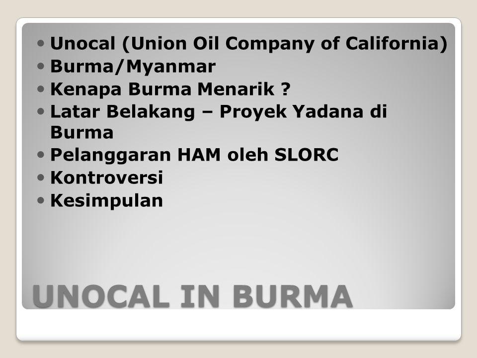 case of unocal burma
