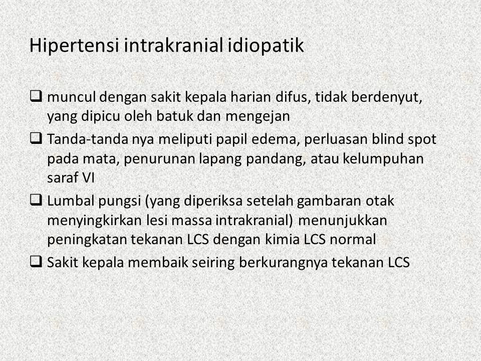 Hipertensi intrakranial idiopatik