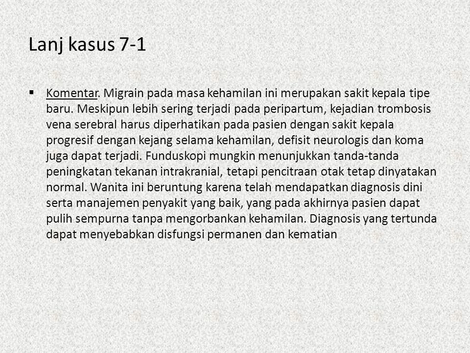 Lanj kasus 7-1