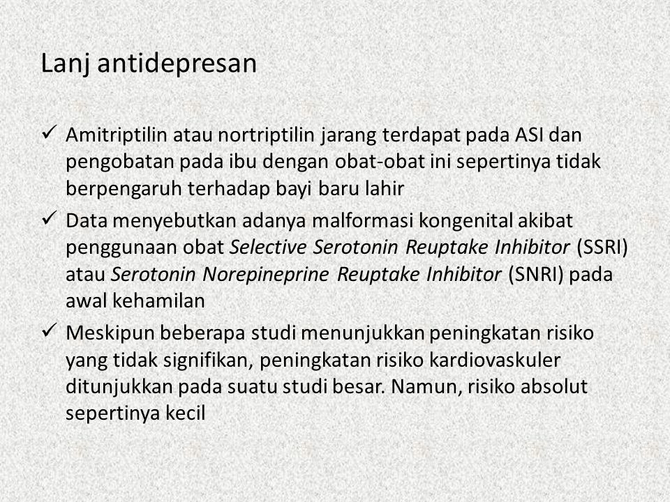 Lanj antidepresan