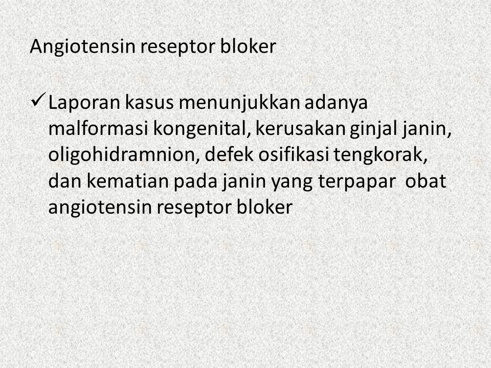 Angiotensin reseptor bloker