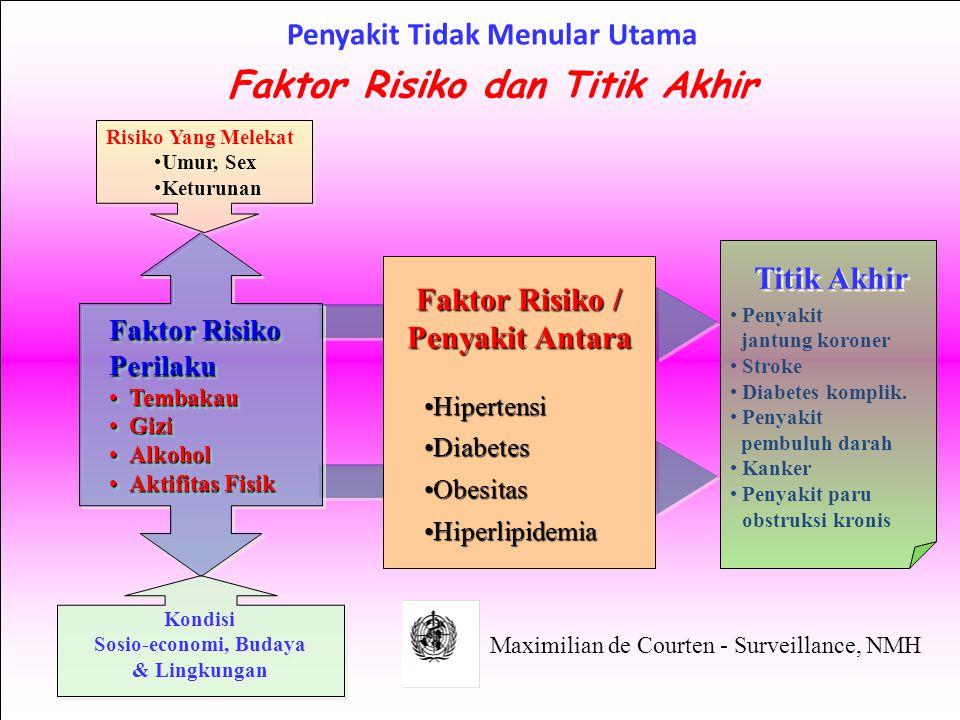 Penyakit Tidak Menular Utama Faktor Risiko dan Titik Akhir
