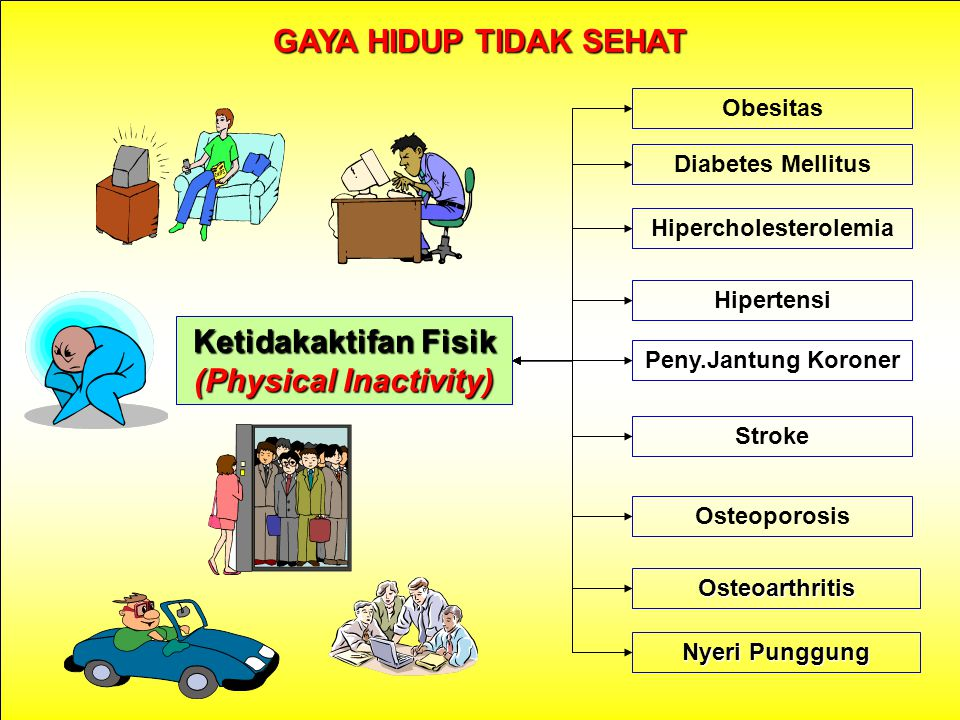 Hipercholesterolemia Ketidakaktifan Fisik (Physical Inactivity)