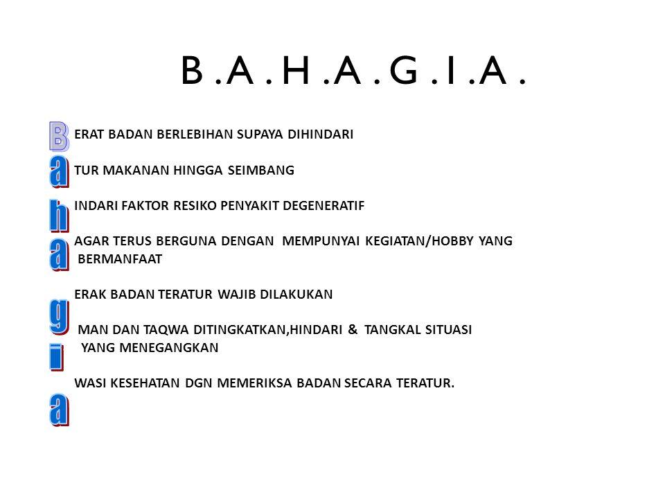 B . A . H . A . G . I . A . B.