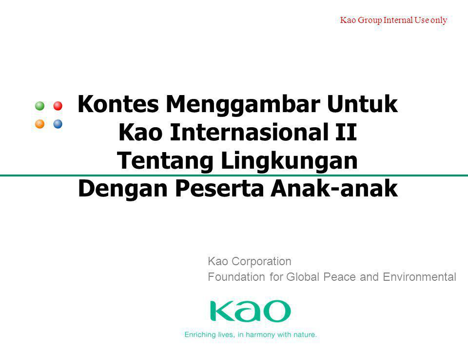 Kao Corporation Foundation for Global Peace and Environmental