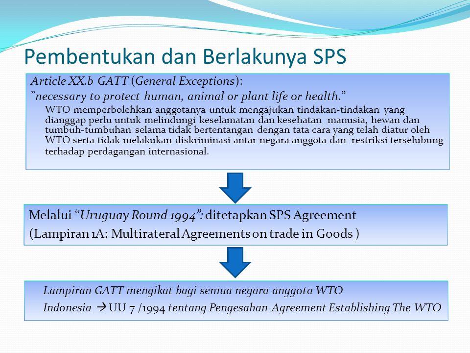 Pembentukan dan Berlakunya SPS