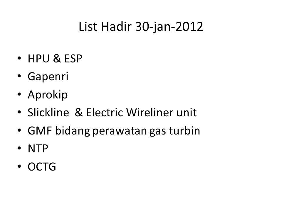 List Hadir 30-jan-2012 HPU & ESP Gapenri Aprokip