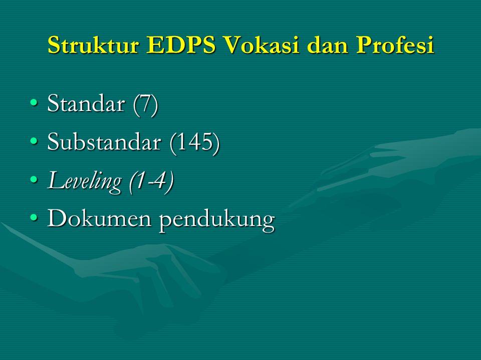 Struktur EDPS Vokasi dan Profesi