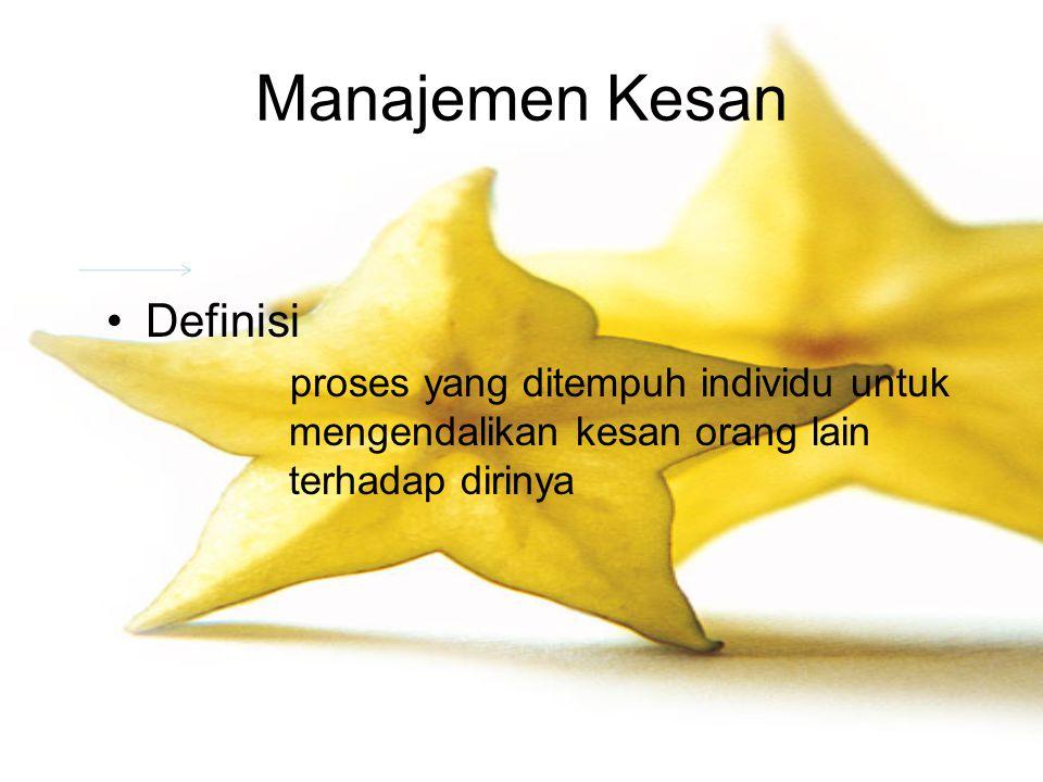 Manajemen Kesan Definisi