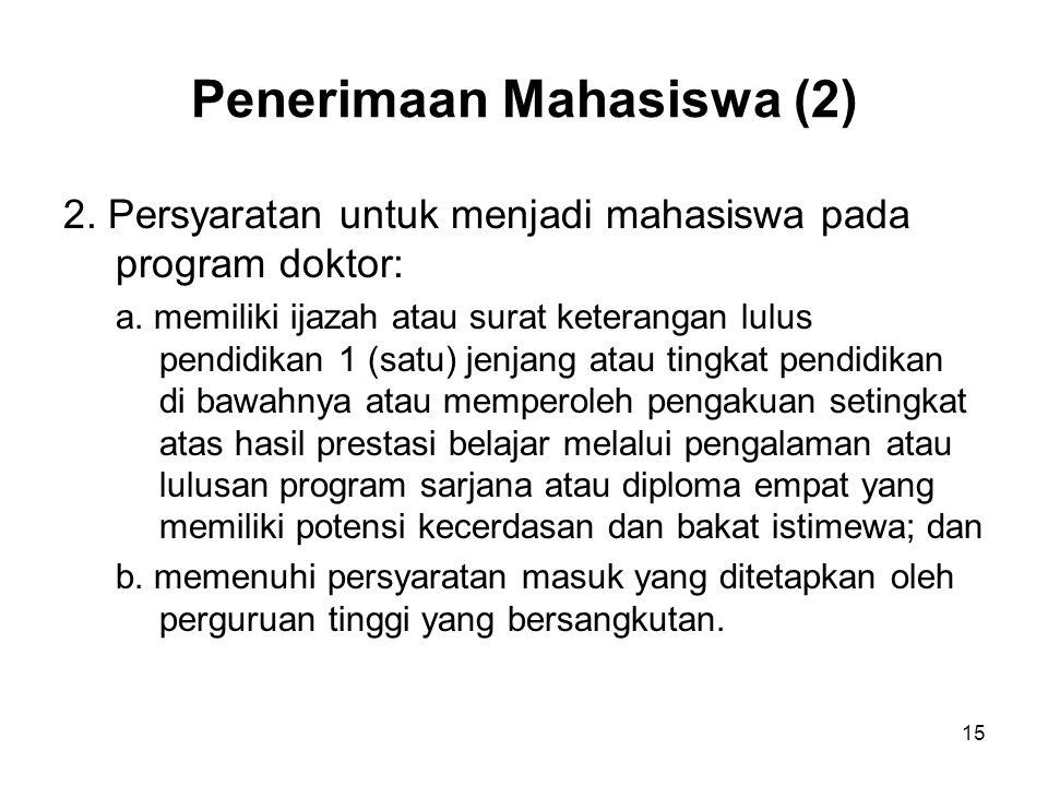 Penerimaan Mahasiswa (2)