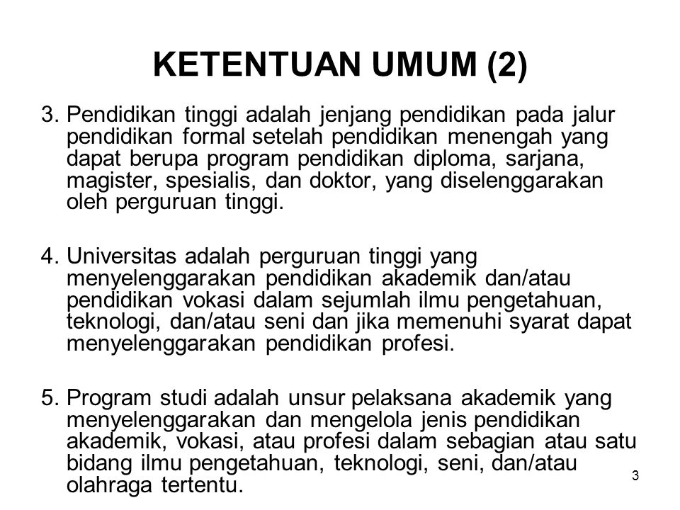 KETENTUAN UMUM (2)
