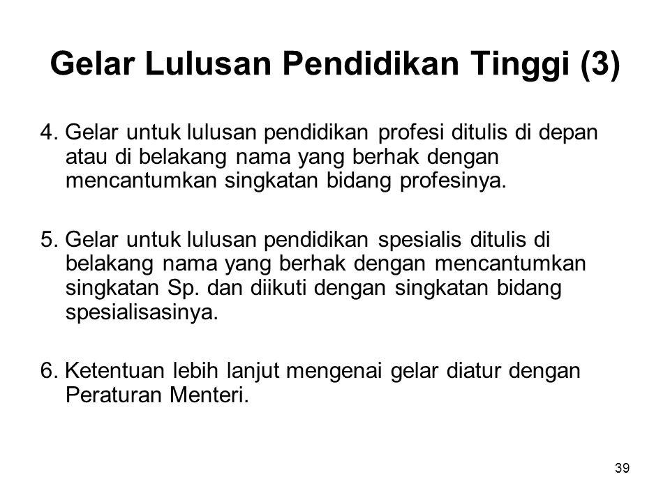 Gelar Lulusan Pendidikan Tinggi (3)