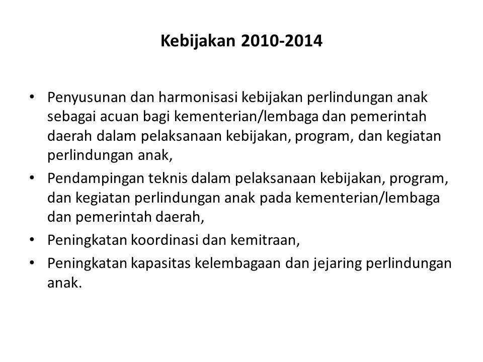 Kebijakan 2010-2014