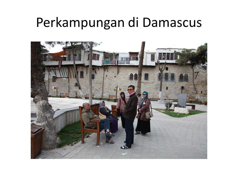 Perkampungan di Damascus