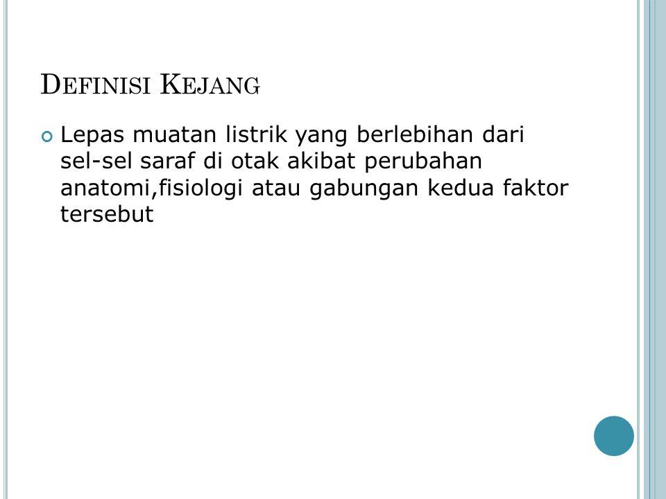 Definisi Kejang