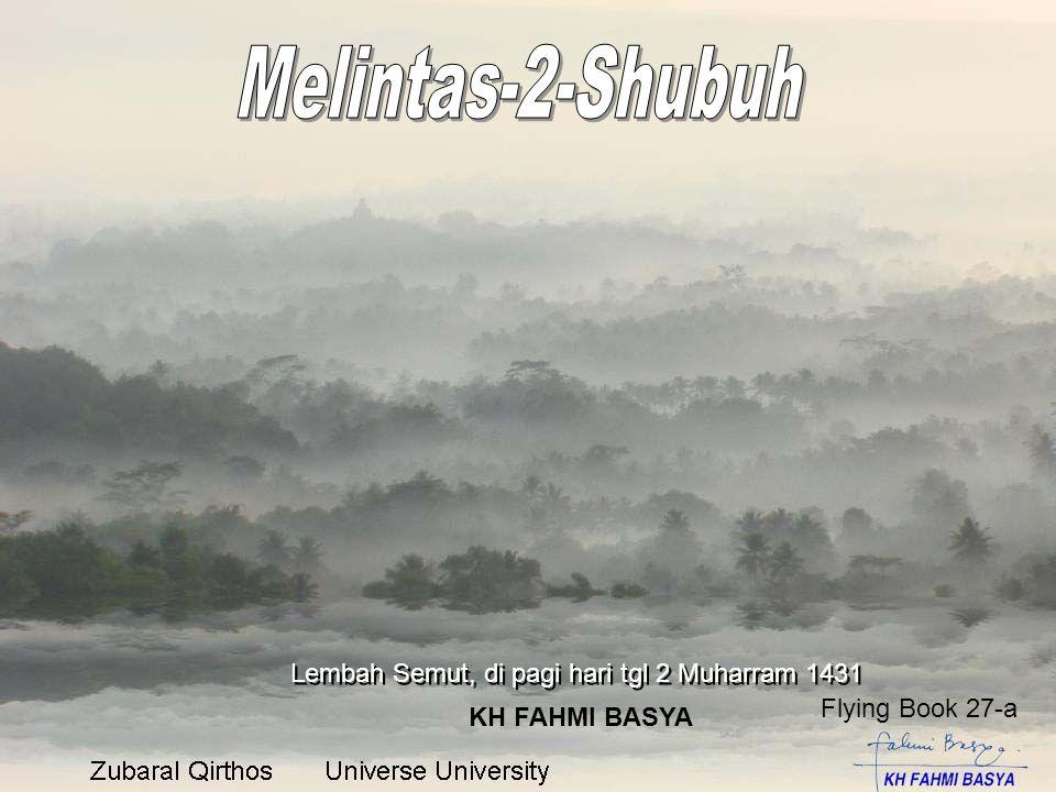 Lembah Semut, di pagi hari tgl 2 Muharram 1431