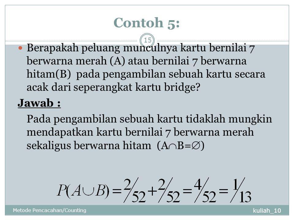 Contoh 5: