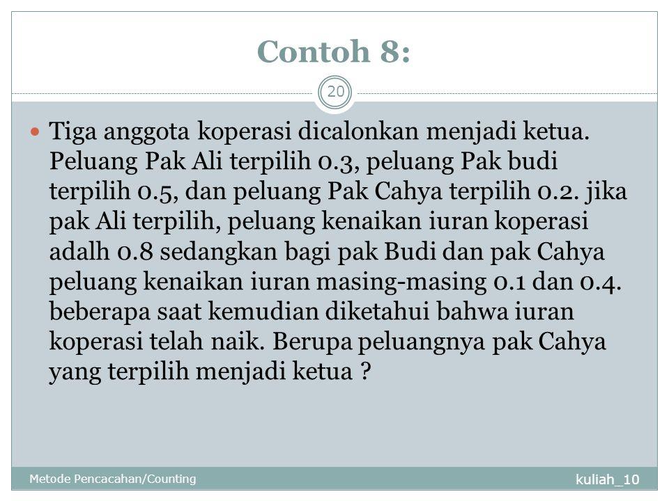 Contoh 8: