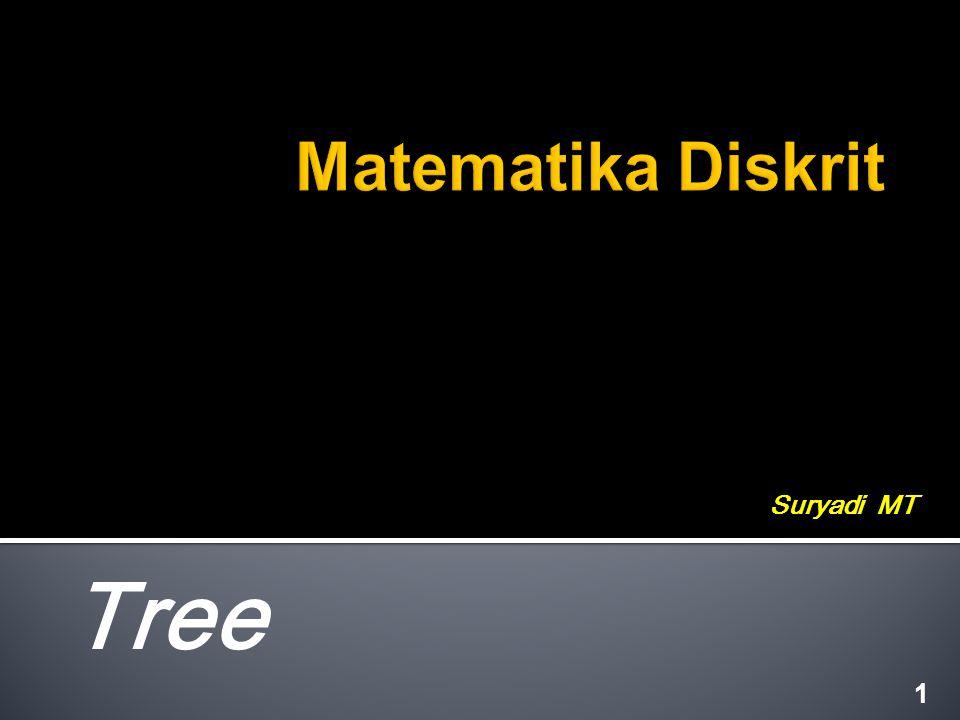 Matematika Diskrit Suryadi MT Tree