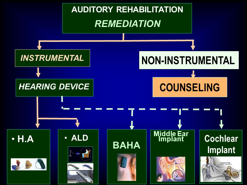 AUDITORY REHABILITATION