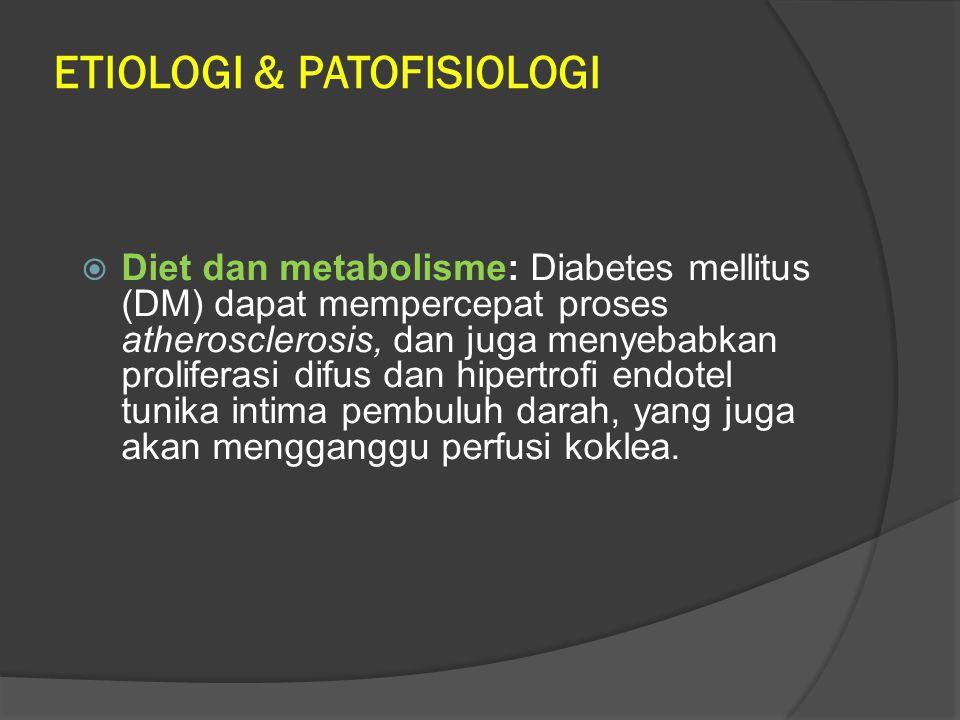 ETIOLOGI & PATOFISIOLOGI