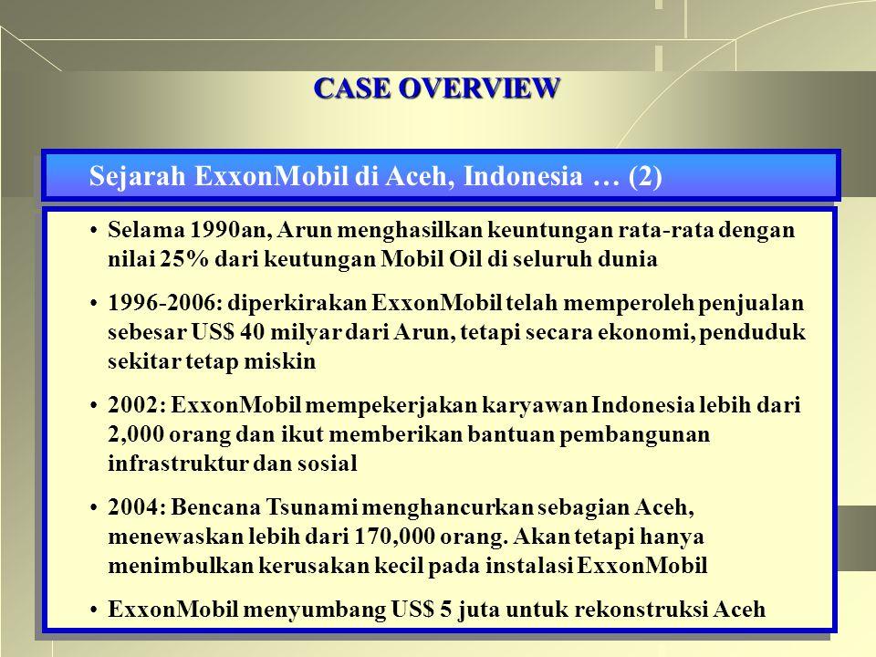 Sejarah ExxonMobil di Aceh, Indonesia … (2)