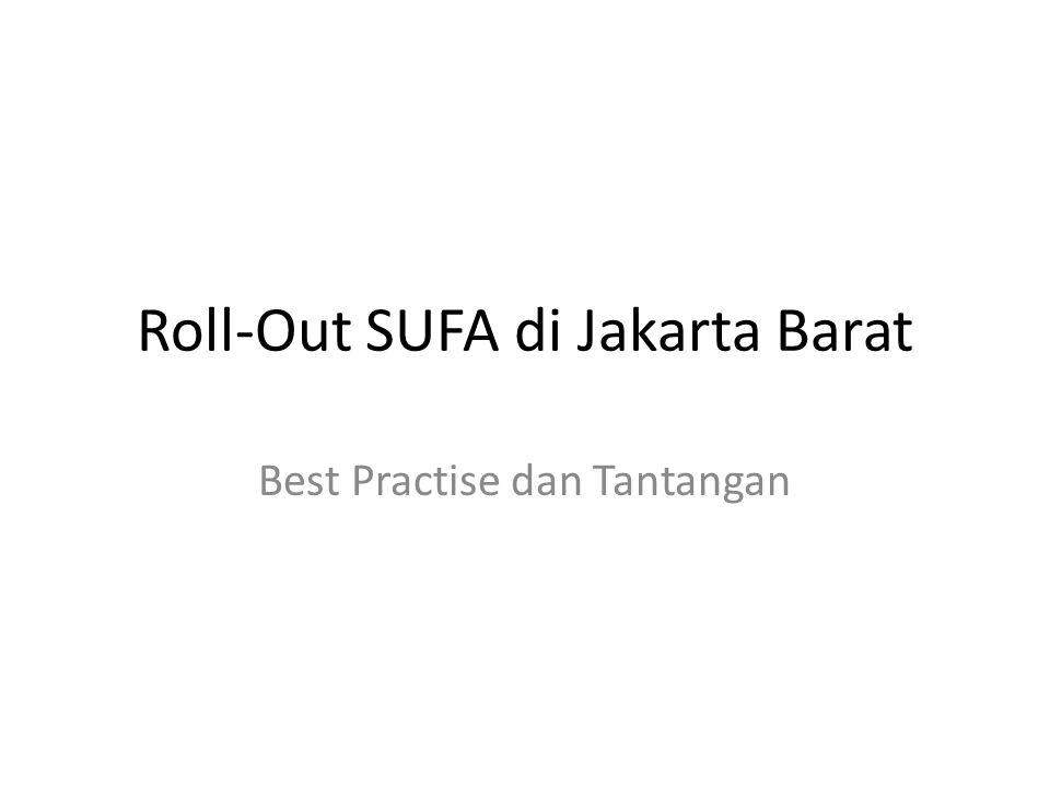 Roll-Out SUFA di Jakarta Barat
