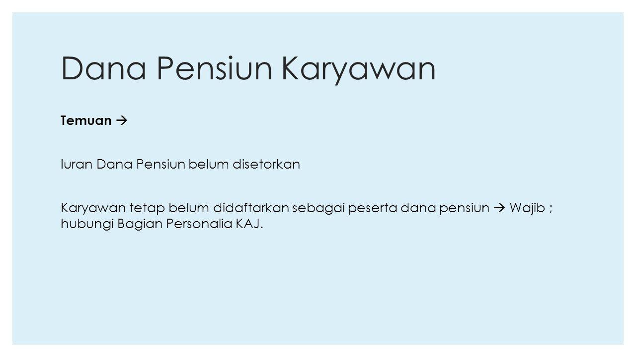 Dana Pensiun Karyawan
