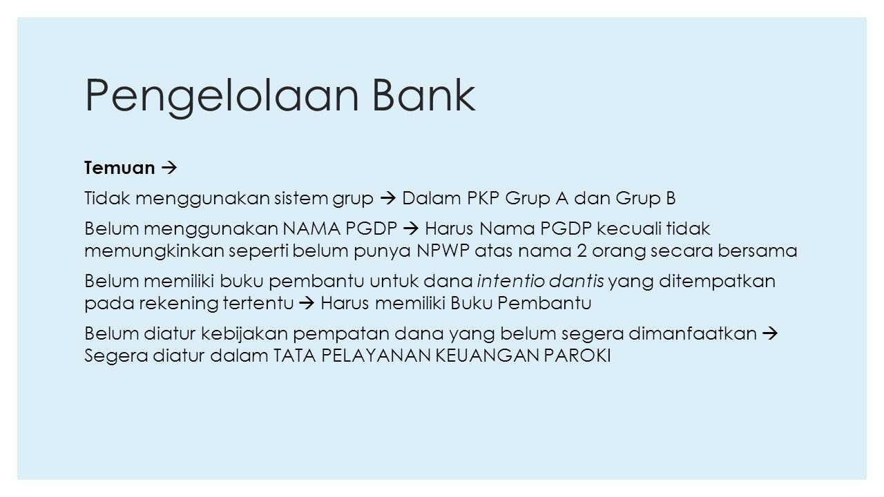 Pengelolaan Bank