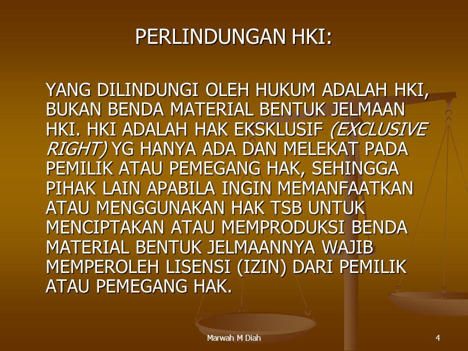 PERLINDUNGAN HKI: