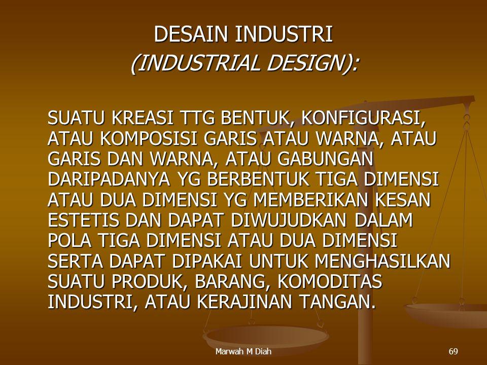 DESAIN INDUSTRI (INDUSTRIAL DESIGN):