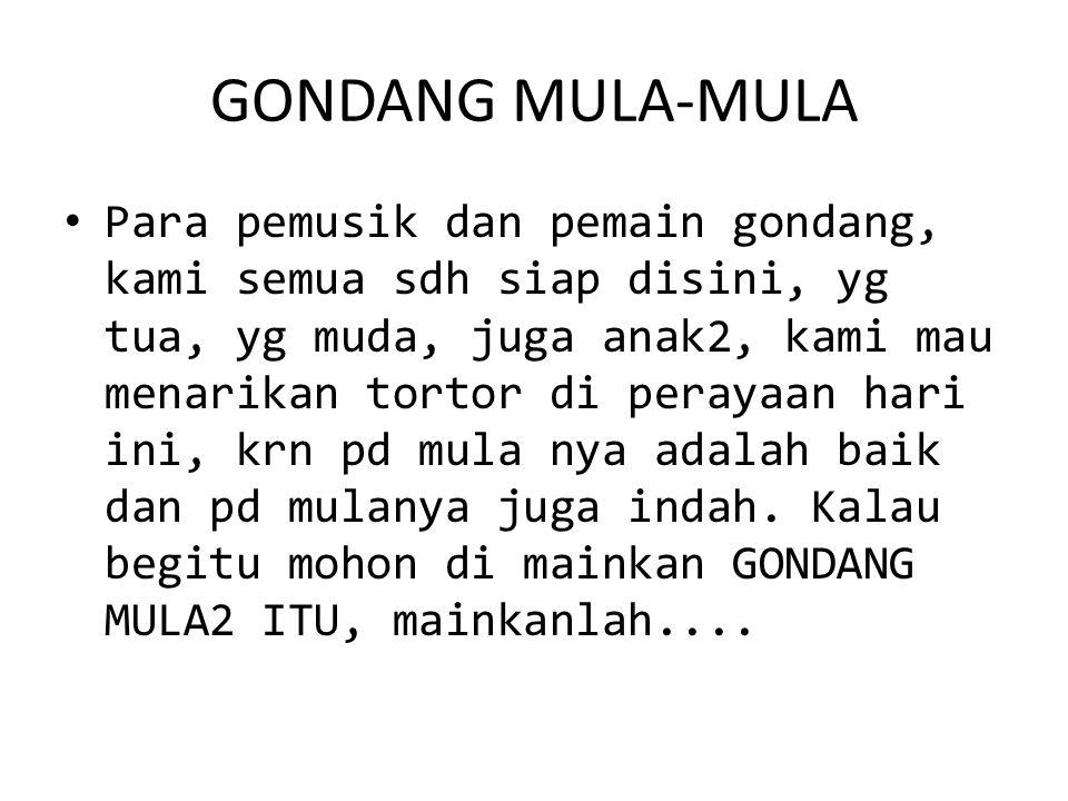 GONDANG MULA-MULA