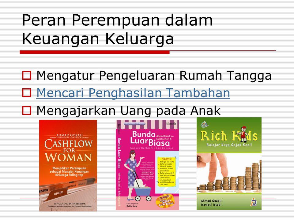 Peran Perempuan dalam Keuangan Keluarga