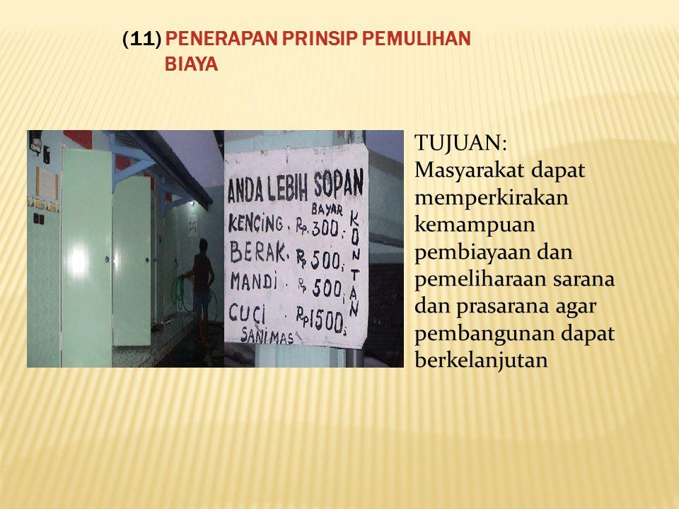 (11) PENERAPAN PRINSIP PEMULIHAN BIAYA